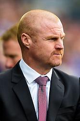 Burnley manager Sean Dyche - Mandatory by-line: Ryan Hiscott/JMP - 30/09/2018 -  FOOTBALL - Cardiff City Stadium - Cardiff, Wales -  Cardiff City v Burnley - Premier League