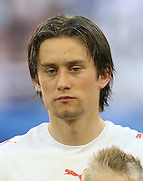 Fussball WM 2006  Gruppenspiel  Vorrunde  Nationalmannschaft Tschechien Tomas Rosicky (CZE)