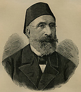 Midhat Pasha (1822-1884) Ottoman Turkish statesman and reformer.