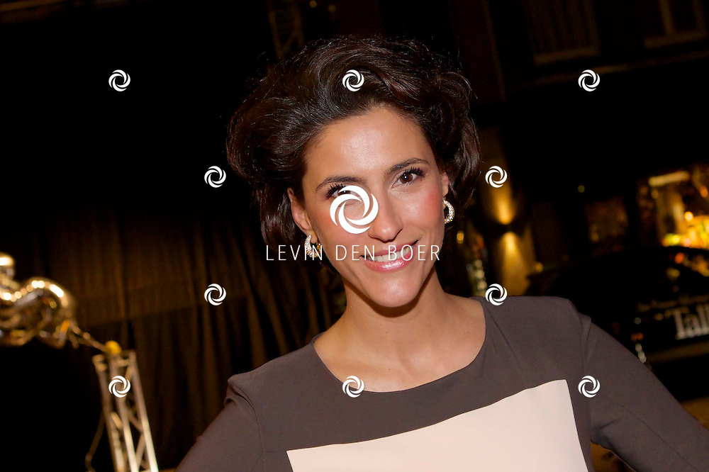 AMSTERDAM - Bij brasserie van Dam hield het glamour magazine Talkies hun 20 jarig bestaan. Dit werd gevierd met de nieuwe cover van het magazine. Met hier op de foto  Kristina Bozilovic. FOTO LEVIN DEN BOER - PERSFOTO.NU