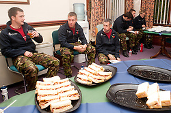 10 Soldiers, 10 Marathons, 5 Days to raise funds for St Dunstans..1 November 2010 .Images © Paul David Drabble