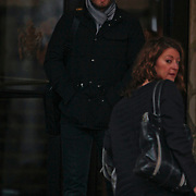 NLD/Amsterdam/20101127 - Take That verlaat hun hotel in Amsterdam, Gary Barlow