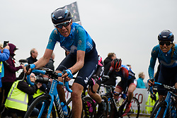 The top of the VAMberg comes into view at Ronde van Drenthe 2018 - a 157.2 km road race on March 11, 2018, from Emmen to Hoogeveen, Netherlands. (Photo by Sean Robinson/Velofocus.com)