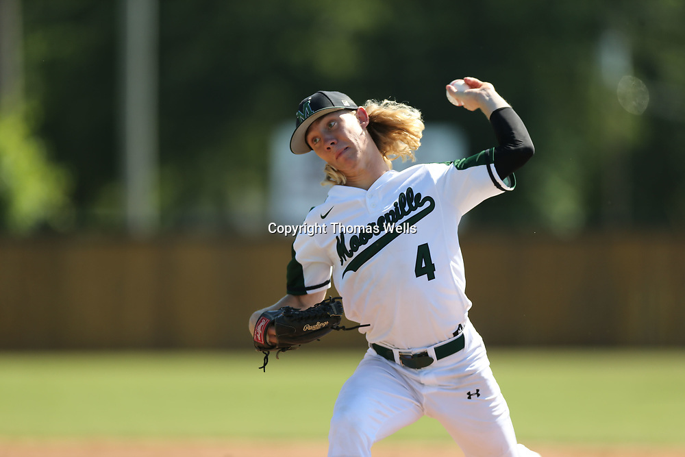Mooreville pitcher Andrew Peugh pitched a complete game and helped the Troopers to advnace to the State Championship on Sunday with a 6-1 win over Kossuth.