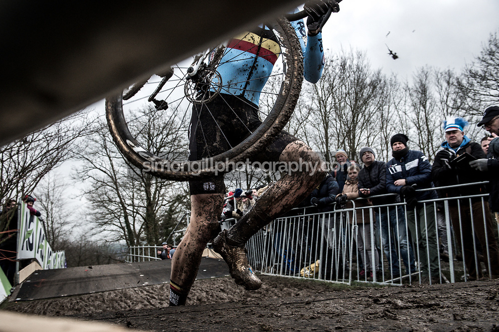 UCI Cyclo-cross World Championships in Valkenburg 2018. Wout Van Aert. Photo by Simon Gill.