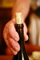 Domaine du Vissoux, Beaujolais.a bottle of Beaujolais.. September 14, 2007..Photo by Owen Franken for the NY Times.
