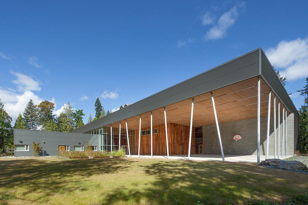 Stz'uminus First Nation Middle School, Chemainus, Vancouver Island | David Nairne Associates 2012