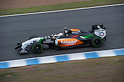 Circuito de Jerez, Spain : Formula One Pre-season Testing 2014. Daniel Juncedella, Force India