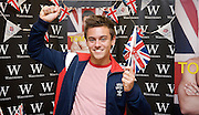 Tom Daley <br /> Diver and Olympic Bronze Medalist<br /> personal appearance and book signing at Waterstone's Bluewater shopping Centre, Great Britain <br /> 16th August 2012 <br /> <br /> <br /> Tom Daley <br /> <br /> Photograph by: Elliott Franks