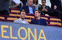 Andy MURRAY - 21.04.2015 - Barcelone / Paris Saint Germain - 1/4Finale Retour Champions League<br />