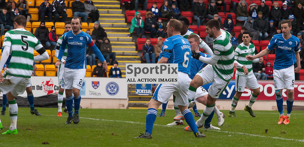 #7 Nadir Ciftci (Celtic) opens the scoring<br /> <br /> St Johnstone v Celtic &bull; Ladbrokes Premiership &bull; 13 December 2015<br /> <br /> &copy; Russel Hutcheson | SportPix.org.uk