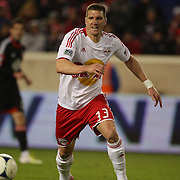 Kenny Cooper, Red Bulls, in action during the New York Red Bulls V D.C. United Major League Soccer, Eastern Conference Semi Final 2nd Leg match at Red Bull Arena, Harrison. New Jersey. USA. 8th November 2012. Photo Tim Clayton