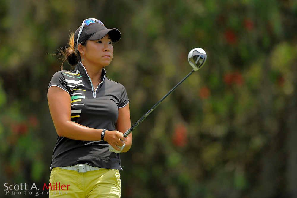 Kitty Hwang during the final round of the Symetra Tour's Guardian Retirement Championship at Sara Bay in Sarasota, Florida April 28, 2013. ..©2013 Scott A. Miller