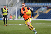 MK Dons defender Dean Lewington (3)  during the Sky Bet Championship match between Blackburn Rovers and Milton Keynes Dons at Ewood Park, Blackburn, England on 27 February 2016. Photo by Simon Davies.