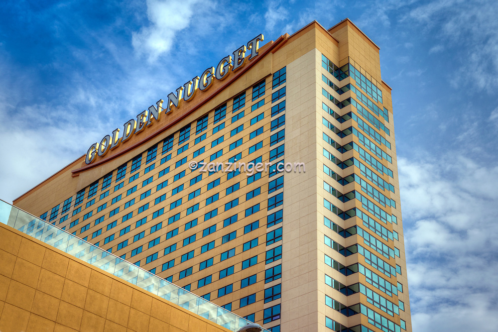 Golden Nugget Hotel Casino, Atlantic City World-famous Boardwalk, Sand, Resort hotels,  Architecture;  New Jersey; Seaside Resort;