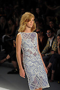05.SEPTEMBER.2013. NEW YORK CITY<br /> <br /> TADASHI SHOJI CATAWALK SHOW AT MERCEDES BENZ FASHION WEEK. NEW YORK, LINCOLN CENTER, SPRING 2014 COLLECTONS<br /> <br /> BYLINE: EDBIMAGEARCHIVE.CO.UK<br /> <br /> *THIS IMAGE IS STRICTLY FOR UK NEWSPAPERS AND MAGAZINES ONLY*<br /> *FOR WORLD WIDE SALES AND WEB USE PLEASE CONTACT EDBIMAGEARCHIVE - 0208 954 5968*