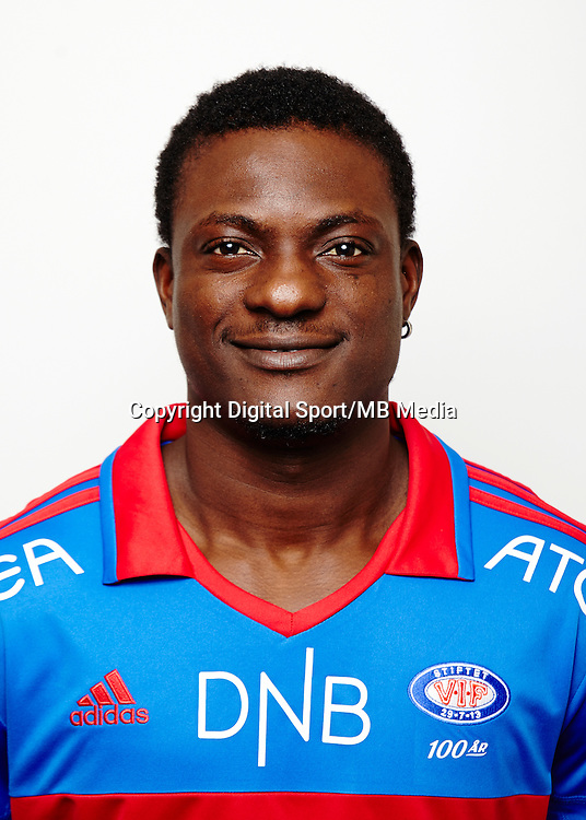 Fotball..Tippeligaen..Portrett portretter..Vålerenga VIF 2013..Sidoine Oussou..Foto: Eirik Førde