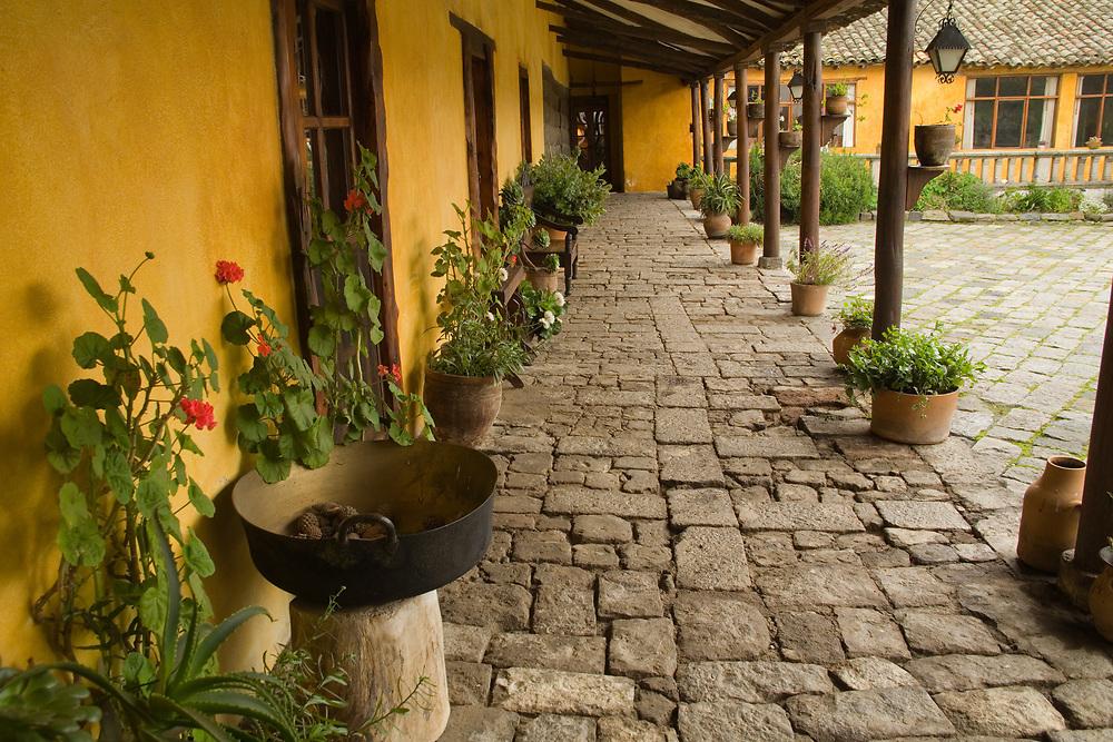 South America, Ecuador, Latacunga, Hacienda San Agustin de Callo   PR