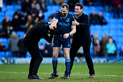 Half time stag party - Mandatory by-line: Ryan Hiscott/JMP - 08/02/2020 - FOOTBALL - Adam's Park - High Wycombe, England - Wycombe Wanderers v Bristol Rovers - Sky Bet League One