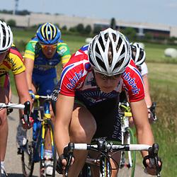 Janneke Kanis reed voor de gelegeheid inhet clubshirt vna de Noordwesthoek