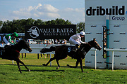 No Thanks ridden by Callum Shepherd and trained by William Jarvis in the Novia High Flyer Handicap race.  - Ryan Hiscott/JMP - 02/08/2019 - PR - Bath Racecourse - Bath, England - Race Meeting at Bath Racecourse