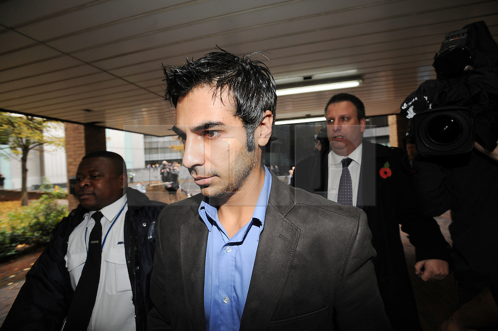 © London News Pictures. 03/11/2011. London, UK. Former Pakistan cricketer Salman Butt arriving at Southwark Crown Court, London today (03/11/2011) where he is due to be sentenced for his part in a match-fixing scandal. Three Pakistan cricketers,  Salman Butt, Mohammad Asif and Mohammad Amir have been found guilty of conspiracy to cheat and conspiracy to obtain and accept corrupt payments.  Photo credit: Ben Cawthra/LNP