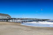 Avalon Fishing Pier, Kill Devil Hills, Outer Banks, North Carolina, USA
