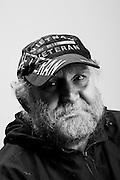 Donald Crowhurst<br /> Army <br /> Specialist (E-4)<br /> Radioman<br /> 1969 - 1973<br /> Vietnam<br /> <br /> WaterFire Event<br /> Veterans Portrait Project<br /> Providence, RI