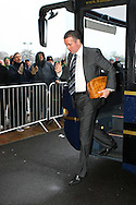 Colchester - Saturday January 16th, 2010:  Norwich Manager Paul Lambert arrives at the ground before the Coca Cola League One match at the Weston Homes Community Stadium, Colchester. (Pic by Paul Chesterton/Focus Images).