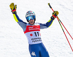 02.03.2020, Hannes Trinkl Weltcupstrecke, Hinterstoder, AUT, FIS Weltcup Ski Alpin, Riesenslalom, Herren, 2. Lauf, im Bild Luca De Aliprandini (ITA) // Luca De Aliprandini of Italy reacts after his 2nd run of men's Giant Slalom of FIS ski alpine world cup at the Hannes Trinkl Weltcupstrecke in Hinterstoder, Austria on 2020/03/02. EXPA Pictures © 2020, PhotoCredit: EXPA/ Johann Groder