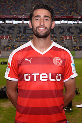 02.07.2015, Esprit Arena, Duesseldorf, GER, 2. FBL, Fortuna Duesseldorf, Fototermin, im Bild Karim Haggui ( Fortuna Duesseldorf / Portrait ) // during the official Team and Portrait Photoshoot of German 2nd Bundesliga Club Fortuna Duesseldorf at the Esprit Arena in Duesseldorf, Germany on 2015/07/02. EXPA Pictures &copy; 2015, PhotoCredit: EXPA/ Eibner-Pressefoto/ Thienel<br /> <br /> *****ATTENTION - OUT of GER*****
