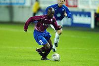 Fotball, 15. oktober 2003, UEFA - cupen, 1 runde, Molde Stadion, Molde- UD Leiria,  Douaia, Leiria