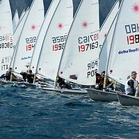 Europa Cup Laser 2012 Circolo Vela Torbole Garda Trentino