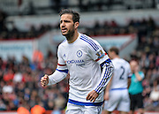 Chelsea Midfielder Cese Fabregas (4) during the Barclays Premier League match between Bournemouth and Chelsea at the Goldsands Stadium, Bournemouth, England on 23 April 2016. Photo by Adam Rivers.