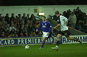 10/01/2004 - Photo  Wayne ROONEY, Peter Spurrier.2003/04 Barclaycard Premiership Fulham v Everton.