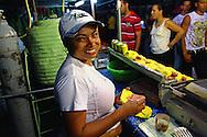 Carnival food in Bayamo, Granma Province, Cuba.