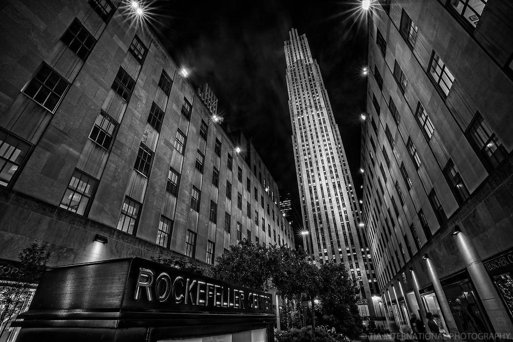 Rockefeller Center @ Night