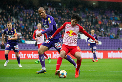 05.05.2019, Generali Arena, Wien, AUT, 1. FBL, FK Austria Wien vs FC Red Bull Salzburg, Meistergruppe, 29. Spieltag, im Bild v. l. Christian Schoissengeyr (FK Austria Wien), Takumi Minamino (FC Red Bull Salzburg) // f. l. Christian Schoissengeyr (FK Austria Wien) Takumi Minamino (FC Red Bull Salzburg) during the tipico Bundesliga master group 29th round match between FK Austria Wien and FC Red Bull Salzburg at the Generali Arena in Wien, Austria on 2019/05/05. EXPA Pictures © 2019, PhotoCredit: EXPA/ Florian Schroetter
