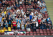 Dundee fans - Motherwell v Dundee in the Ladbrokes Scottish Premiership at Fir Park, Motherwell. Photo: David Young<br /> <br />  - &copy; David Young - www.davidyoungphoto.co.uk - email: davidyoungphoto@gmail.com