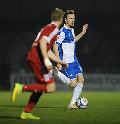 Bristol Rovers' Chris Lines - Photo mandatory by-line: Dougie Allward/JMP - Mobile: 07966 386802 - 20/03/2015 - SPORT - Football - England - Memorial Stadium - Bristol Rovers v Aldershot - Vanarama Football Conference