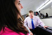 Rep. Jim Jordan (R-OH) makes his way back to his office following a press conference called Conversations with Conservatives in the Rayburn House Office Building on Capitol Hill. (Photo For The Dispatch by Pete Marovich)