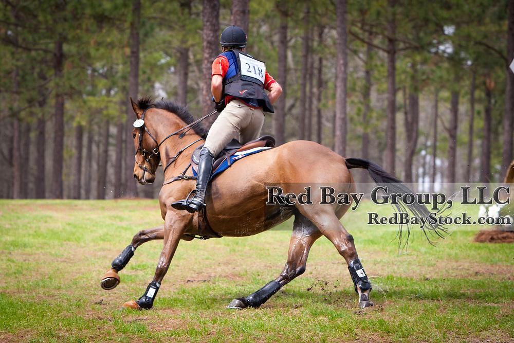 Peter Barry (CAN) and Kilrodan Abbott at the Carolina International in Raeford, North Carolina.