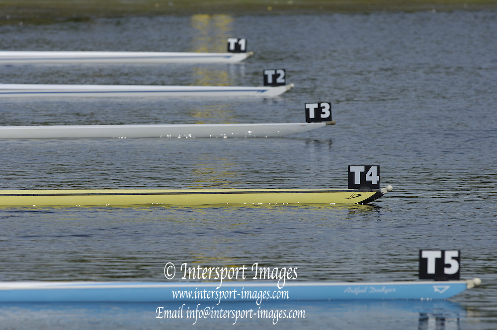 2006, National Rowing Championships, semi final 2,  OL1X move away from the start. Strathclyde Country Park,  Motherwell, SCOTLAND. 15.07.2006.  Photo  Peter Spurrier/Intersport Images email images@intersport-images.com.... Rowing Course, Strathclyde Country Park,  Motherwell, SCOTLAND.