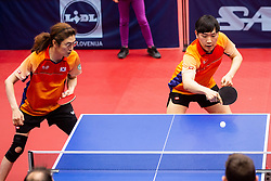 LEE Se Ho and PARK Hong Kyu (KOR) during Team events at Day 4 of 16th Slovenia Open - Thermana Lasko 2019 Table Tennis for the Disabled, on May 11, 2019, in Dvorana Tri Lilije, Lasko, Slovenia. Photo by Vid Ponikvar / Sportida