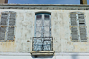 Traditional French architecture at St Martin de Re,  Ile de Re, France