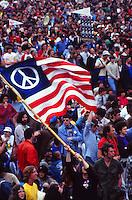 anti-vietnam war demonstration in the 70s
