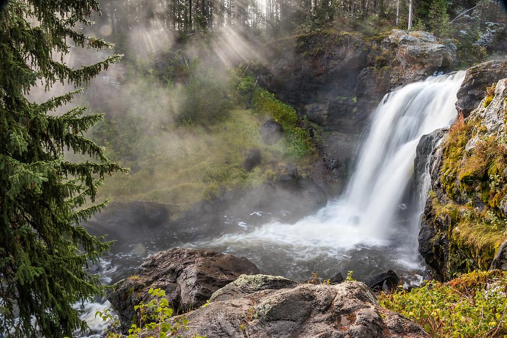 Moose Falls, Yellowstone NAtional Park, Wyoming