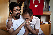 Reza (L) 29, and Khosro (R) 47, Tehran, Iran,<br />