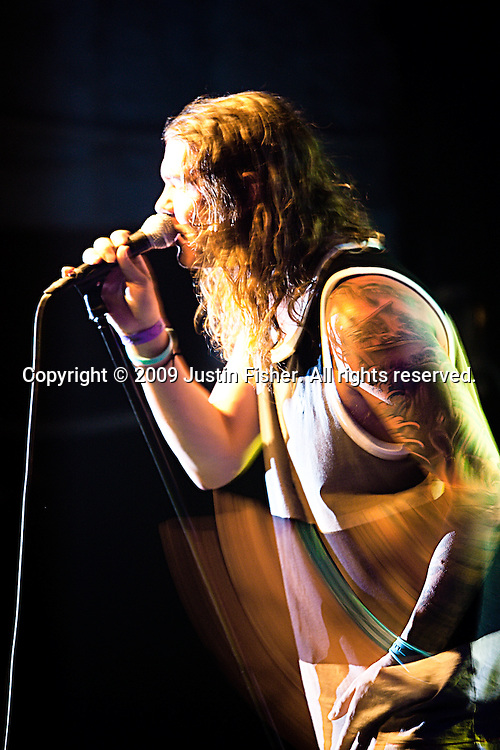 Jared Watson performs for the Dirty Heads at the Aggie Theater, Fort Collins CO, July 12 2009.