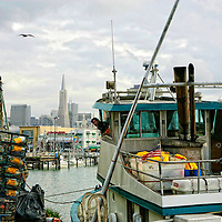 Crab Fisherman coming into the docks at Fisherman's Wharf in San Francisco.  Mandatory Credit: Dinno Kovic / Dinno Kovic Photography
